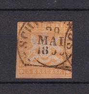 Württemberg - 1859 - Michel Nr. 12 - Gest. - 18 Euro - Wuerttemberg