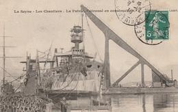 Les Chantiers. Le Patrie Cuirassé En Construction - La Seyne-sur-Mer