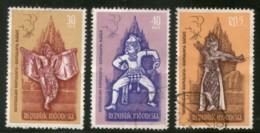 Indonesia 1962 Ramayana Ballet Rama Hanuman God Hindu Mythology Used  # 2301 - Hinduism