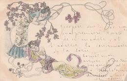 Cartolina - Postcard /   Viaggiata - Sent /  Donnina. - Frauen