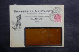 FRANCE - Enveloppe Commerciale Illustrée De Nantes Pour Paris En 1930 - L 35095 - 1921-1960: Modern Period