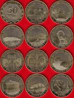 "Armenia Set Of 11 Coins: 50 Drams 2012 ""Regions Of Armenia"" UNC - Arménie"