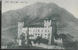 CASTEL CLES - FORMATO PICCOLO EDIZIONE ANDRIONE 1928 - NUOVA ORIGINALE D'EPOCA - Châteaux