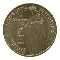 Monnaie De Paris , 2012 , Lyon , Notre Dame De Fourvière , Immaculée Conception - Monnaie De Paris