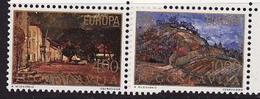 Yugoslavia, 1977, Europa CEPT, Landscapes, 2 Stamps - 1977
