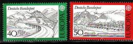 Germany, 1977, Europa CEPT, Landscapes, 2 Stamps - 1977