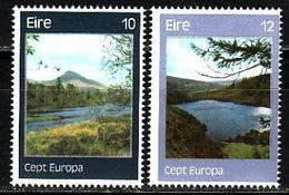 Ireland, 1977, Europa CEPT, Landscapes, 2 Stamps - 1977