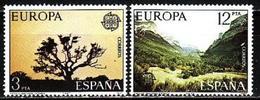 Spain, 1977, Europa CEPT, Landscapes, 2 Stamps - 1977