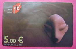 Kosovo CHIP Phone CARD 5 Euro Used Operator VALA900 *Archeology* Series 56... - Kosovo