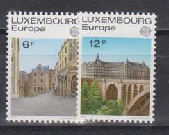 Luxembourg, 1977, Europa CEPT, Landscapes, 2 Stamps - 1977