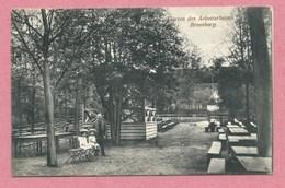 Polska - Polen - Pologne - BROMBERG - Garten Des Arbeiterheim - Feldpost - Guerre 14/18 - Posen
