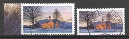 BRD 2017  Mi.Nr. 3344 + 3346 , Kirche In Winterlandschaft - Gestempelt / Fine Used / (o) - BRD