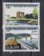 Belgium, 1977, Europa CEPT, Landscapes, 2 Stamps - 1977