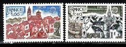 France, 1977, Europa CEPT, Landscapes, 2 Stamps - 1977
