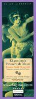 Marque-page °° Navona - F. Scott Fitzgerald El Gominola Primero De Mayo - V.uni  6x17 - Marque-Pages