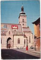 Zagreb: MOSKVITCH 402, ZASTAVA 600 - Trg Stjepana Radica - (Croatia, YU.) - 1964 - Toerisme