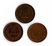 Japon 10 Yen X 3 - Japon