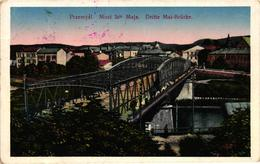 Poland, Przemysl, Most 3go Maja, Bridge Scene, Old Postcard - Polonia