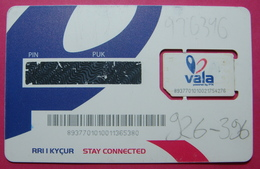 Kosovo CHIP Phone Card Number Used With BIG Chip Operator Vala PTK *Butterfly* - Kosovo
