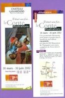 Marque-page °° Lavardens 32 - Expo 2002 Illustrations De Contes - Flyer 8x21 - Marque-Pages