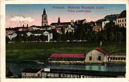 Poland, Przemysl, Wybrzeze Franciszka Jozefa, Old Postcard - Polonia