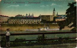 Poland, Przemysl, Ul. Jagiellonska, Old Postcard - Polonia
