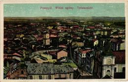 Poland, Przemysl, General View, Widok Ogólny, Old Postcard - Polonia
