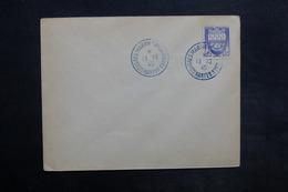 """FRANCE - Oblitération Bleue """" Congrès Marins Combattants Nantes """" En 1945 - L 35106 - Postmark Collection (Covers)"""