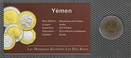 0035 - 'MONNAIES BICOLORES LES PLUS RARES' - Yemen - 20 Rials - 2004 - Yémen