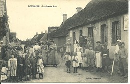 - 28 -  EURE-et-LOIR - LOULAPPE -  La Grande Rue - Francia