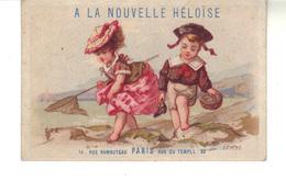 """Chromo  A La Nouvelle Héloise Paris   - """"Eté"""" Imp J.Cheret  Et P. Brunel  Paris - Other"""