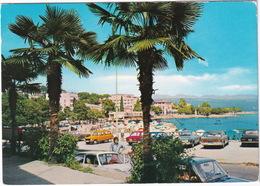 Opatija: DATSUN CEDRIC 230, FORD TAUNUS P5, FIAT 124, 128, RENAULT 6 - (Croatia, YU.) - Toerisme