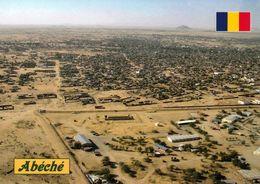 1 AK Tschad République Du Tchad * Blick Auf Die Stadt Abéché - Luftbildaufnahme * - Tschad