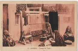 TUNISIE - DJERBA - Tissage De Tapis - Tunesien