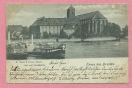 Polska - Polen - Pologne - GRUSS Aus BRESLAU - Oder Mit Sandkirche - Schlesien