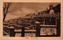 Poland, Chelm, Cholm,Cemetery, Heldenfriedhof, Old Postcard - Polonia