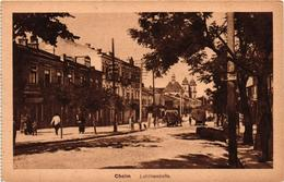 Poland, Chelm, Cholm,Street Scene, Lublinerstrasse, Old Postcard - Polonia