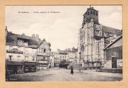 CPA Lisieux, Vieilles Maisons Et St.-Jacques, Ungel. - Lisieux
