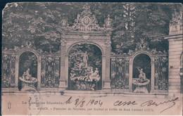 POSTAL FRANCIA - NANCY - FONTAINE DE NEPTUNE - PAR GUIBAL ET GRILLE DE JEAN LAMOUR 1755 - Nancy