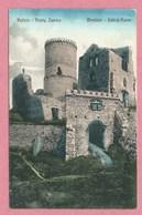 Polska - Polen - Pologne - BEDZIN - BENDZIN - Schloss Ruine - Feldpost Landwehr Inft. Batl. Colmar 82 - Guerre 14/18 - Schlesien