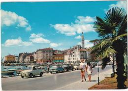Rovinj: ZASTAVA 600, 1300, NSU PRINZ 1000, FIAT 500, VW T1-BUS - (Croatia, YU.) - Toerisme