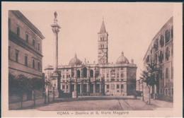 POSTAL ROMA - BASILICA DE S MARIA MAGGIORE - Iglesias