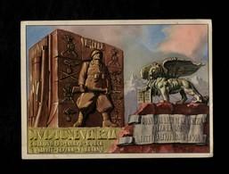 Cartolina Divisione Di Fanteria Da Montagna Venezia - Monumenti Ai Caduti