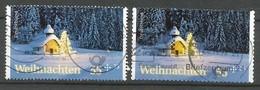 BRD 2012  Mi.Nr. 2961 + 2966 , Weihnachten - Gestempelt / Fine Used / (o) - BRD