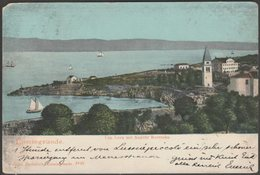 Cap Leva Mit Ansicht Rovenska, Lussingrande, 1903 - Giorgio Barbalich Cartolina - Croatia