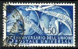 Italia Nº 538 En Usado - 6. 1946-.. República