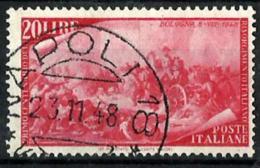 Italia Nº 526 En Usado - 6. 1946-.. República
