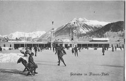 DAVOS-PLATZ → Eisbahn Mit Vielen Touristen Anno 1910 - GR Grisons