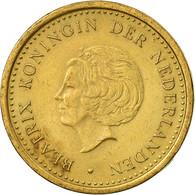 Monnaie, Netherlands Antilles, Beatrix, Gulden, 1993, TTB, Aureate Steel, KM:37 - Antillen (Niederländische)