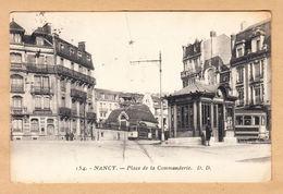 CPA Nancy, Place De La Commanderie, Gel. 1928 - Nancy